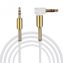 China 2018 Audio Cable Gold Plating 3.5mm Male to Male Car Aux Auxiliary Cord Jack Stereo Audio Cable for Phone MP3 suppliers