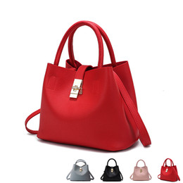 high luxury bags 2019 - 2018 New Fashion Candy Women Bags Mobile Messenger Ladies Handbag 4 Colors PU Leather High Quality Luxury Shoulder Bucke