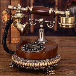 EuropEan tElEphonE antiquE online shopping - European classical craft antique telephone retro telephone fashion creative home landline American telephone