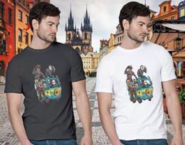 $enCountryForm.capitalKeyWord Australia - New The Massacre Machine Horror Cool Men's Printed T-shirt Short Sleeve Tops Tee Popular Style Man T-Shirt Top Tee