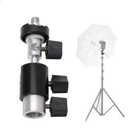 $enCountryForm.capitalKeyWord NZ - SIV Type D 360 Degree Swivel Camera Flash Shoe Stand Bracket Umbrella Holder