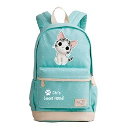 a7ee3fd270b0a 2018 New Japanese Anime Chi's Sweet Home Kawaii Cat Emoji School Bags Cute  Women Backpack Cartoon Backpacks for Teenage Girls