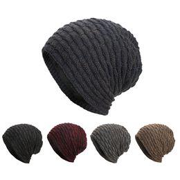 $enCountryForm.capitalKeyWord Canada - 2018 Women Men Adult hat large knit Warm Casual Solid Baggy Weave Crochet Winter Wool Knit Ski Beanie Skull Caps Hat