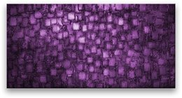 decorative hand paintings Australia - Hand -Painted Purple Canvas Wall Art Modern Abstract Art Decorative Wall Pictures For Home Decoration Gift