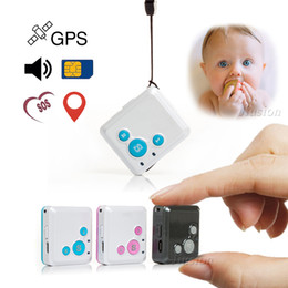 Discount personal track - Smallest GPS Real time Tracker Locator V16 Nanny Children GSM GPRS SOS Alarm Personal Tracking Device APP Web Two Way Ta