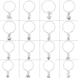 $enCountryForm.capitalKeyWord UK - Women Pearl Oyster Charm Bracelets Fashion Silver star frog owl Pearl Cage Pendant Locket Bracelet Jewelry charm
