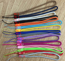 $enCountryForm.capitalKeyWord UK - new colorful Nylon wrist hand cell phone mobile chain straps keychain Charm Cords Hang Rope Lanyard