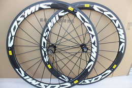 Wheels front carbon clincher online shopping - 700C mm depth road bike carbon wheels mm width clincher carbon wheelset with A271 hub K glossy finish