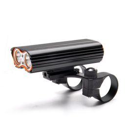 $enCountryForm.capitalKeyWord UK - 7000 Lumen Cycling Lamp Bicycle Front Light Rechargeable USB Bike Lights Dual LED Headlight Flashlight Torch Bike Accessories