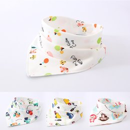Wholesale Baby bandana drool bibs for drooling and teething organic cotton soft and absorbent baby bandana bibs many styles baby bibs