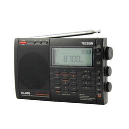 Performance Speakers NZ - Lusya Tecsun PL-660 Portable High Performance Full Band Digital Tuning Stereo Radio FM AM Radio SW SSB