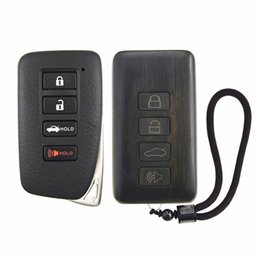 $enCountryForm.capitalKeyWord Australia - Remote Control Refit Rosewood Car Key Fob Shell Replacement for Lexus ES GS IS LX NX RC (Circuit Board & Battery Excluded)