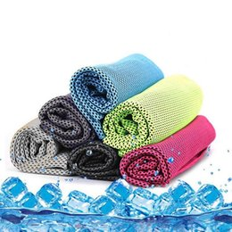 $enCountryForm.capitalKeyWord Canada - 90*30cm Ice Cold Towel Outdoor Cooling Scarves Summer Sunstroke Sports Exercise Cool Quick Dry Soft Breathable Cooling Towel