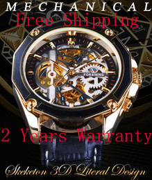 AutomAtic wAtch geArs online shopping - Forsining Transparent Case Gear Movement Steampunk Men Automatic Skeleton Watch Top Open Work Design Self Winding