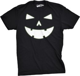 $enCountryForm.capitalKeyWord UK - Details zu Mens Happy Tooth Glowing Pumpkin Face Glow In The Dark Halloween Tee Casual Funny free shipping Unisex tee gift
