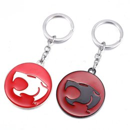 Digital photo frame key online shopping - Women Men Thunder Cats Key Buckle Comic And Animation Pendant Metal Alloy Keychain Fit Bag Automobile mf ff