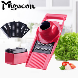 $enCountryForm.capitalKeyWord NZ - wholesale Multifuntional 6 in 1 Manual Mandoline Slicer Fruit&Vegetable Peeler Phtato Garlic Ginger Onion Cutter Kitchen Gadgets