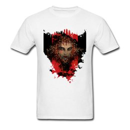 Tops Camisa Night Stalker Cool T Shirt Sexo Otoño Especial Normal Full Cotton Round Neck Hombre Tshirts Satan Tomb Raider Sex
