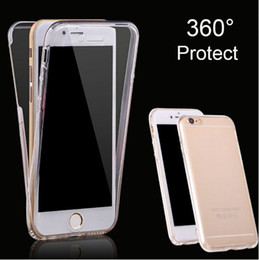 $enCountryForm.capitalKeyWord NZ - 360 Degree Curve Front + Back Silicone Cover For Iphone 7 SE 5 5s 6 6s 8 X Plus XiaoMi 5X A1 RedMi 4A Note 4X 5 5A Phone Cases