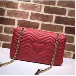 Big brand famous design bag Totes New velvet handbags real shot chain  handbag wave pattern leather Shoulder bag Messenger bags 9a5db8c150f08