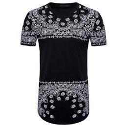 9bb73515257 Brand New Clothing Mens Long Length Black t shirt 2018 Hip Hop streetwear t-shirt  long t shirt 05