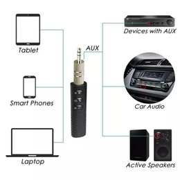 Discount wireless headphone jack adapter - Universal 3.5mm Stereo Music Wireless Bluetooth Receiver for Car Headphone Speaker Handfree Kit Bluetooth Audio Music Ad