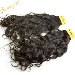 Russian Hair 22 Canada - 100% virgin human hair weaves 7A Brazilian Russian Indian Malaysian Mongolian Peruvian hair extensions Italian Curly hair weft 2 or 3pcs lot