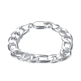 $enCountryForm.capitalKeyWord NZ - Hot sale !12M three simple hand chain - male 925 silver bracelet JSPB163,Beast gift men and women sterling silver plated Charm bracelets