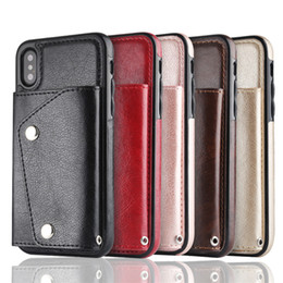 $enCountryForm.capitalKeyWord Canada - For Samsung Galaxy S9 Note8 Fashion Leather Wallet Case For iPhone X Max 7 Plus PU Cell Phone Protector Cover Women card bag