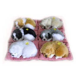 New Simulation Animal Cat Bed Dog Pet Birthday Gift Sleepping Electronic