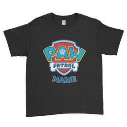 Ingrosso Nome personalizzato AW atrol Bambini T-shirt bambini regalo di compleanno unisex