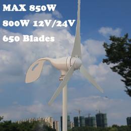 $enCountryForm.capitalKeyWord NZ - 800W 12V 24 V 3 Nylon Fiber Blade Horizontal Home Wind Turbine Wind Generator Power Windmill Energy with PWM controller