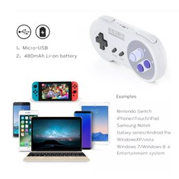 China Free DHL 8Bitdo SNES30 Wireless Bluetooth Gamepad Pro Game Controller for iOS Android Gamepad PC Mac Linux Retro Design 01 suppliers