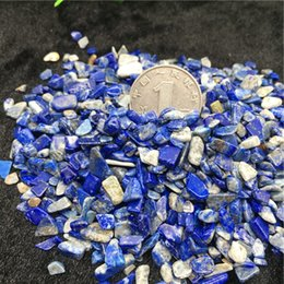 crystal chips NZ - wholesale 50g Natural bluestone Crystal Stone Rock Chips Specimen Lucky crystal love natural stones and minerals Fish Tank stone