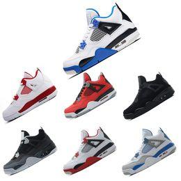 buy popular 88f78 1043a Nike Air Jordan Retro 4 4s Basketballschuhe 4s weißer Zement-Basketball  beschuht Mann 4s IV weiße Zement-Turnschuhe 2018 preiswerte  Sport-Schuhgröße US 8-13