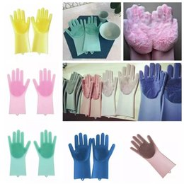 $enCountryForm.capitalKeyWord NZ - Magic Silicone Dish Cleaning Gloves Eco-Friendly Scrubber Washing Multipurpose Glove Kitchen Bed Bathroom Tool Pet Care Grooming AAA1161