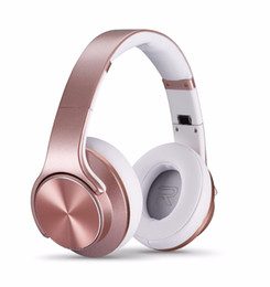 China Magic SODO MH5 Bluetooth 4.2 Wireless Headphone with Twist-out Speaker 2 in 1 Support NFC Aux Noise Canceling Handfree Headsets suppliers