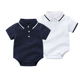 China Summer 2018 Baby Bodysuits 0-24M Short Sleeve Body Babies Newborn Baby Girl Boy Clothing Cotton Infant Jumpsuit Cartoon Costume supplier body baby bodysuits suppliers