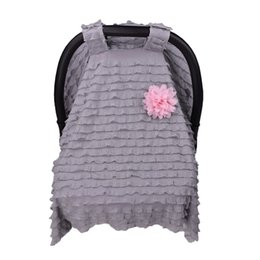Scarf Shops Australia - 2018 New Arrival Nursing Cover Scarf for Mum Shopping Cart Breastfeeding Baby Car Seat Canopy Cover Scarf Infant Car Seat Cover for Stroller