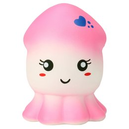 Fashion Style Squeeze Squid Squishy Slow Rising Cream Scented Decompression Toys For Children Adults Attention Office Antistress Novelty Relax Cellphones & Telecommunications Mobile Phone Straps