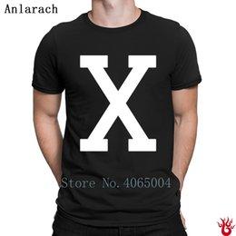 Ingrosso Magliette Malcolm X Magliette da uomo girocollo in puro cotone con stampa t-shirt da uomo 100% cotone