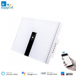 $enCountryForm.capitalKeyWord NZ - Ewelink APP WiFi Smart Wall Switch,Touch Switch Remote Control Compatible with Alexa Google Assistant,IFTTT,No Hub Required