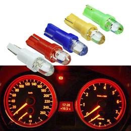 $enCountryForm.capitalKeyWord NZ - T5 LED Car Interior Dashboard Gauge Instrument Car Auto Side Wedge Light Lamp Bulb DC 12V White Red Blue Yellow Green