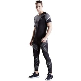 Discount basketball jogging suits - 2017 new top mens running sets jogging compression sports suit quick dry gym yoga set basketball fitness sports suits br