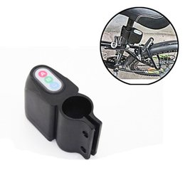 Bicycle caBle locks online shopping - Mini Anti Theft Bicycle Burglar Alarm Outdoor Portable Mountain Bike Accessories With ABC Password No Battery dn Ww