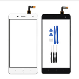 Wholesale Touch Screen For xiaomi mi4 mi vannego Sensor Glass Front Touch Panel Replacement Mobile Accessory tools