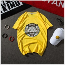 $enCountryForm.capitalKeyWord Canada - Men's short-sleeved T-shirt combed cotton round neck printing T-shirt men's half-sleeved T-shirt casual section