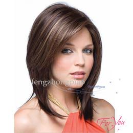 Pretty Hair For Australia - Wholesale cheap Pretty Stylish Short wig wigs Straight Wig Black Hair For Black Woman Afro Full Wigs High Temperature Fiber