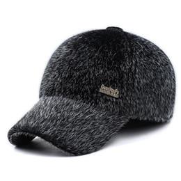 Ball cap ear warmers online shopping - BING YUAN HAO XUAN Male Ears Warm  Winter Hat 0039a3fb741