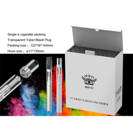 Disposable electronic cigarette cartriDges online shopping - BUD D1 Disposable Electronic Cigarette Wax Oil Vaporizer Vape Pen Upgrade Ceramic Coil ml Disposable Cartridge For Thick Oil
